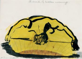 Marlene Dumas-In Search of Hidden Meanings-1988