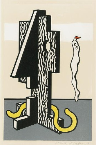 Roy Lichtenstein-Figures (Surrealist Series)-1978
