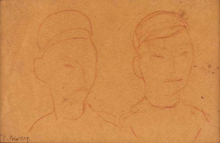 Diego Rivera-Dibujo #14-