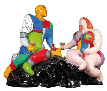 Niki de Saint Phalle-Adam et Eve-