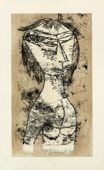 Paul Klee-Die Heilige Vom Inneren Licht (The Saint Of Inner Light) (From Bauhaus-Drucke, Neue Europaische Graphik, Erste Mappe, Meister Des Staatlichen Bauhauses In Weimar)-1921