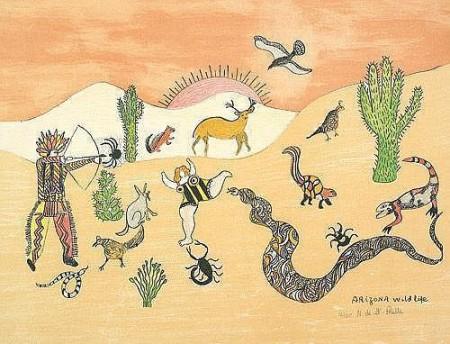 Niki de Saint Phalle-Arizona Wild Life-1970