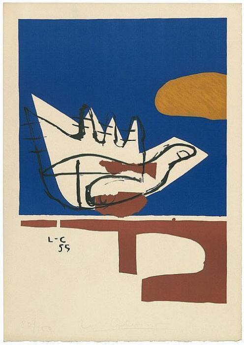 Le Corbusier-La main ouverte-1955