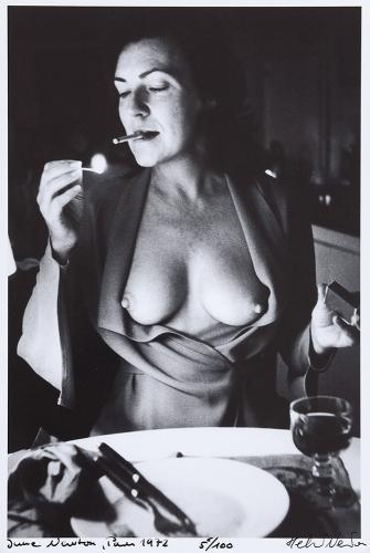 Helmut Newton-June Newton (1972)-1972
