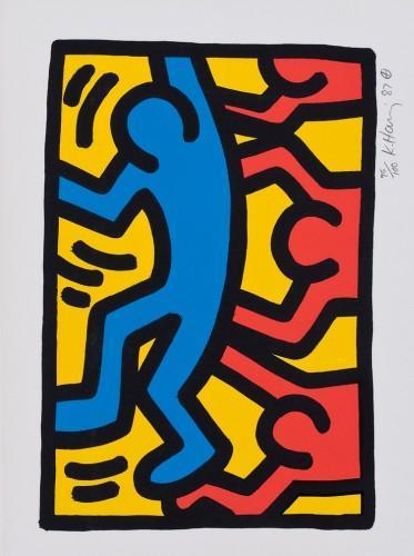 Keith Haring-Keith Haring - Ohne Titel-1987