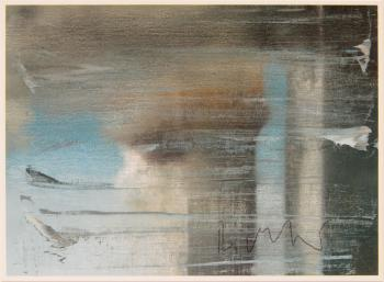 Gerhard Richter-Postkarte (Postcard)-