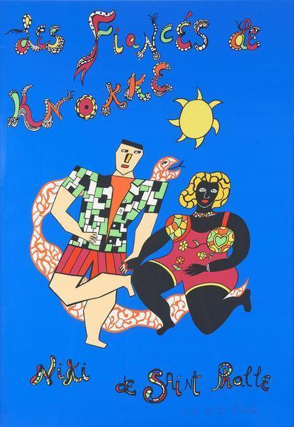 Niki de Saint Phalle-Les fiances de Knokke-