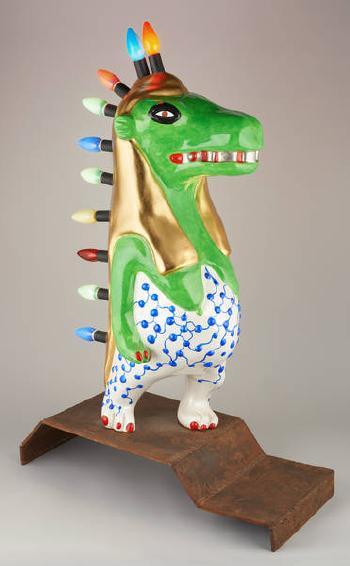 Niki de Saint Phalle-Deesse verte-