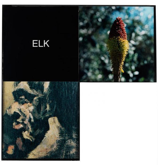 John Baldessari-Elk: Maquette for the Elbow Series-1999