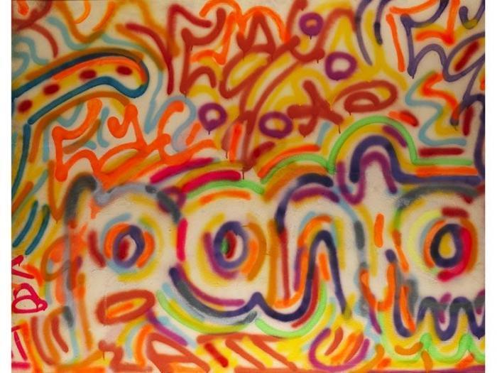 Keith Haring-Keith Haring - Circles-1984