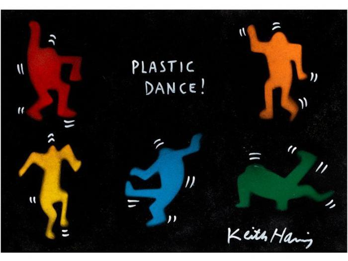 Keith Haring-Keith Haring - Plastic dance !-