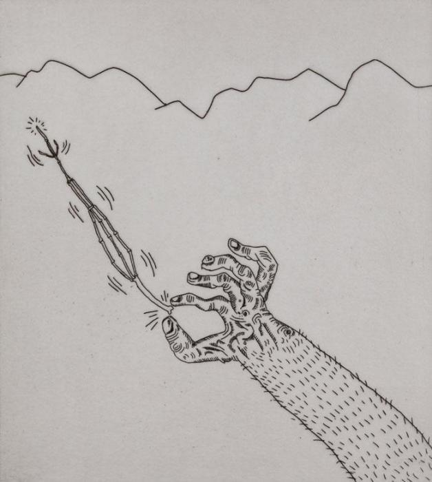 Keith Haring-Keith Haring - The valley, blatt 3-1989