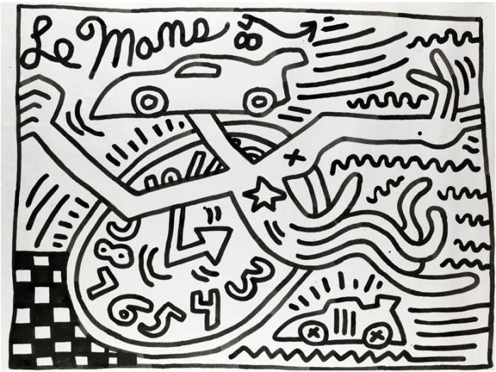 Keith Haring-Keith Haring - Ohne Titel-1984