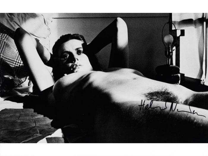 Helmut Newton-Hotel Room, Place de la Republique-1976