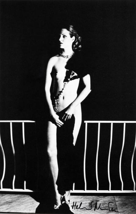 Helmut Newton-Capri At Night (1977)-1977