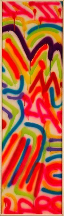 Keith Haring-Keith Haring - Fireworks-1984