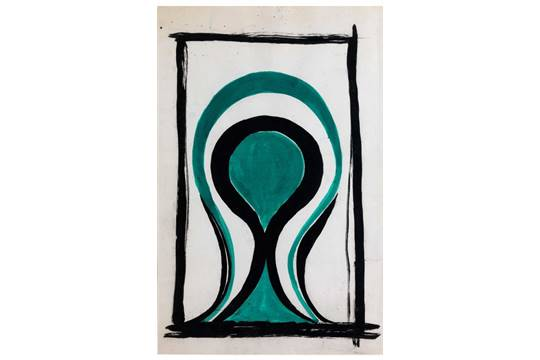 Lucio Fontana-Ambiente Spaziale-1965