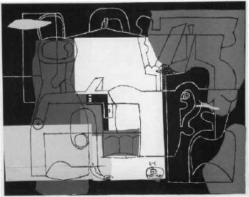Le Corbusier-Bouteilles-1923