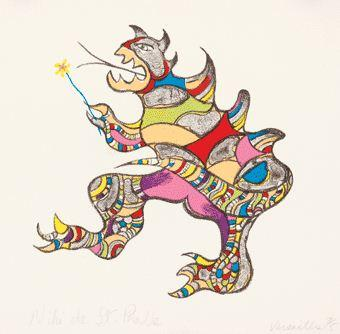 Niki de Saint Phalle-Monster-1996