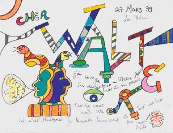 Niki de Saint Phalle-Cher Walter-1999