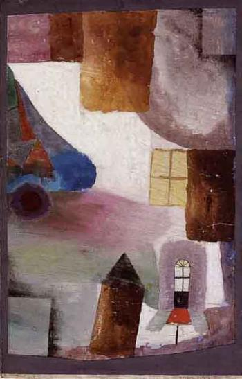 Paul Klee-Weisses Ostern I (White Easter I)-1924