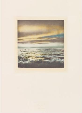 Gerhard Richter-Seelandschaft-1971