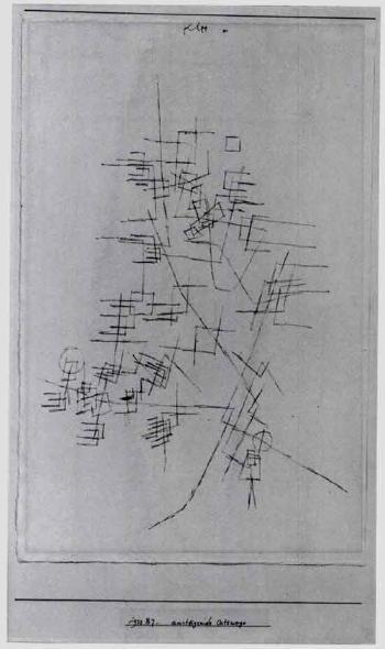 Paul Klee-Ansteigende Ortswege (Rising Pathways)-1930