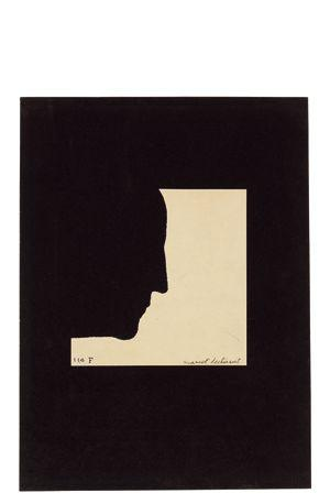 Marcel Duchamp-Self-Portrait in Profile-1958