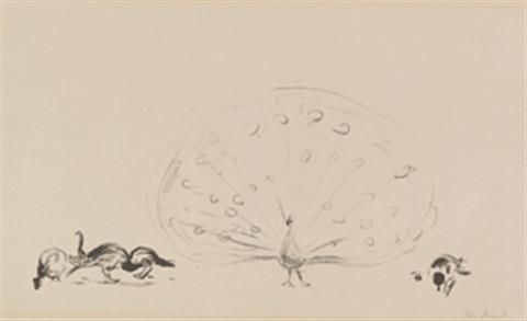 Edvard Munch-Pfauenfamilie-1909