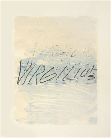 Cy Twombly-Virgilius-1976