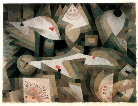 Paul Klee-Aquarium-1921
