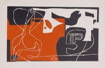 Le Corbusier-Les Des sont jetes-1959