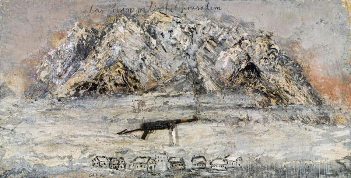 Anselm Kiefer-Das Himmlische Jerusalem (The Heavenly Jerusalem)-2011