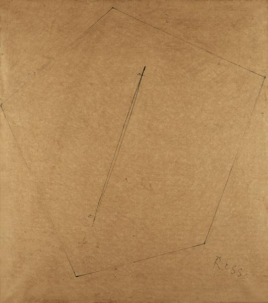 Lucio Fontana-Studio per scultura-1967