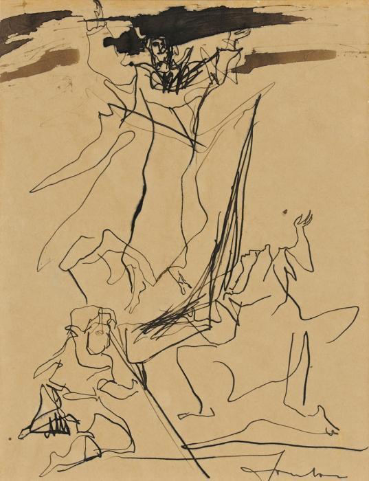 Lucio Fontana-Mutterschaft-1947