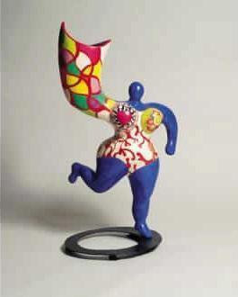 Niki de Saint Phalle-Ange-vase-1995