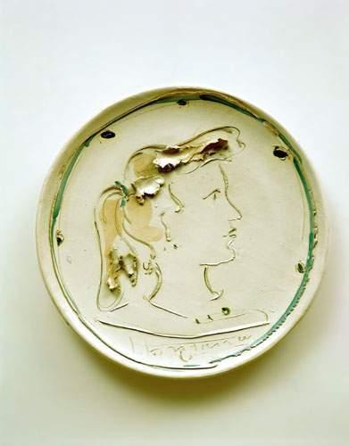 Lucio Fontana-Profil feminin-1952