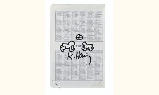 Keith Haring-Keith Haring - Sans titre-1985