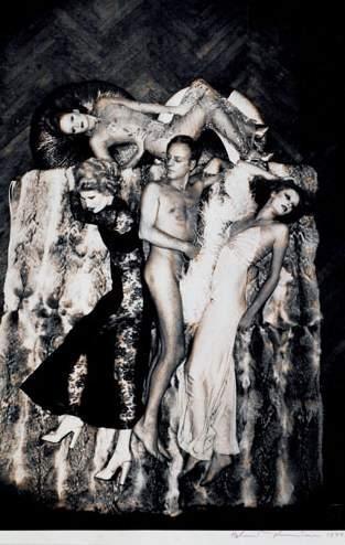 Helmut Newton-Luis Azzaro (1974)-1974