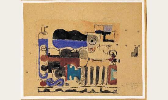 Le Corbusier-Composition mecaniqe-1929