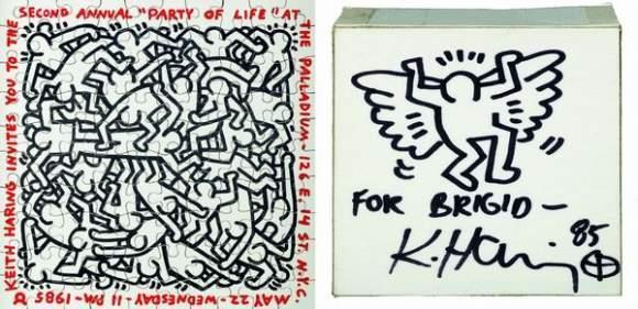 Keith Haring-Keith Haring - Angel; Puzzle-1985