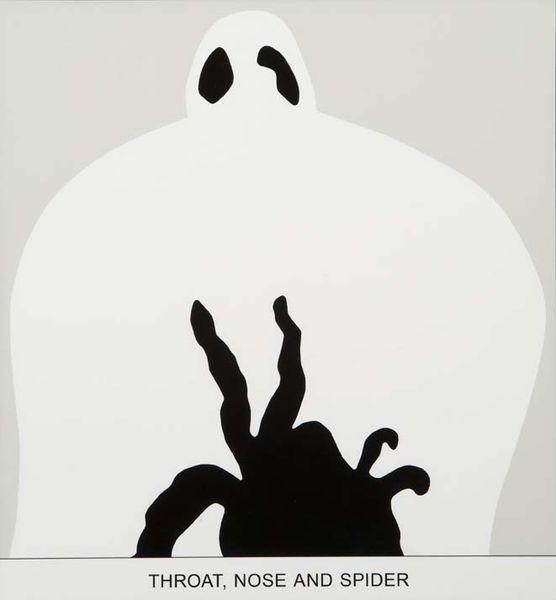 John Baldessari-Sediment: Throat, Nose and Spider-2010