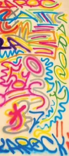 Keith Haring-Keith Haring - L.A. Rock-1984