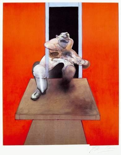 Francis Bacon-Figure in Movement-1985