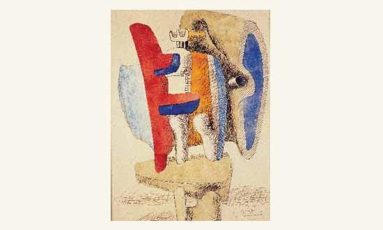 Le Corbusier-Composition-1940