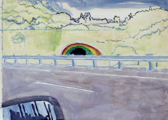 Peter Doig-Highway (2)-1999