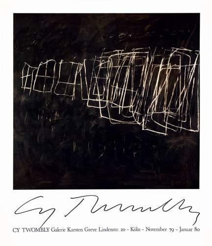 Cy Twombly-Sans titre-1979