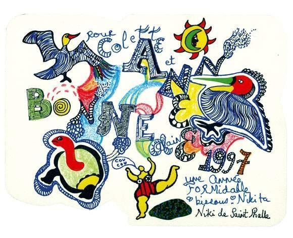 Niki de Saint Phalle-Bonne annee-1997