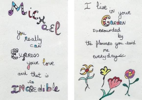 Niki de Saint Phalle-Love Letters-1980