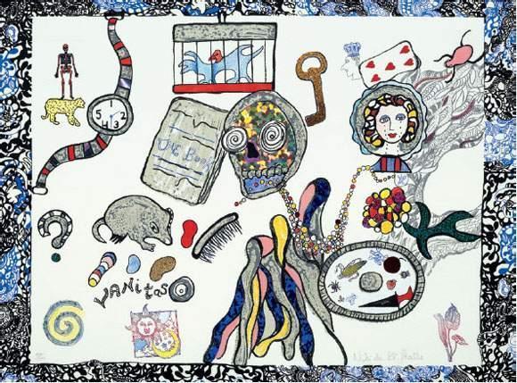 Niki de Saint Phalle-Vanitas-1996